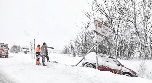 Vinter i Danmark